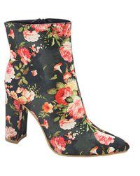 12affd5c7577f Jada Women s Floral Ankle Boots - Black