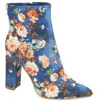 113d456b7a8c9 Jada Women s Floral Ankle Boots - Blue