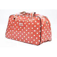 Cotton Road Peach Polka Travel Bag