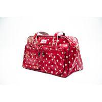 Cotton Road Red Polka Travel Bag
