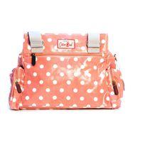 Cotton Road Peach Polka Hand Bag