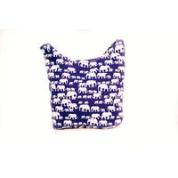 Cotton Road Navy Elephant Sling Bag