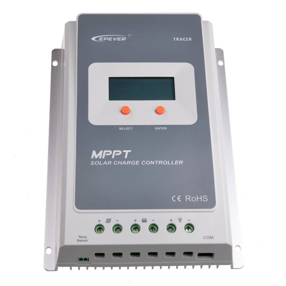 Epsolar Tracer 10a Mppt Solar Charge Controller 12 24v Buy Pwm 12v Loading Zoom