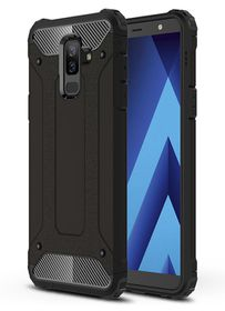 Shockproof Armor Case For Samsung Galaxy A6 Black 2018 Buy