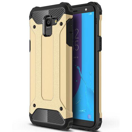 abbc84cc840 Shockproof Armor Case for Samsung Galaxy J6 - Gold