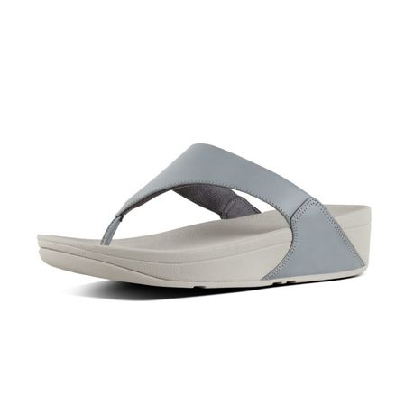 f0dc3fd1709f FitFlop Lulu Leather - Dove Blue