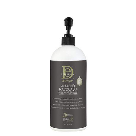 Design Essentials Almond Avocado Detangling Sulphate Free Shampoo