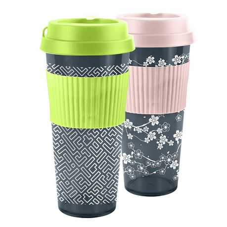 222cbc2672f Lumoss - His & Hers Smoothie Travel Cup Bundle - Green | Buy Online ...