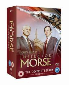 Inspector Morse: The Complete Series 1-12 (DVD)