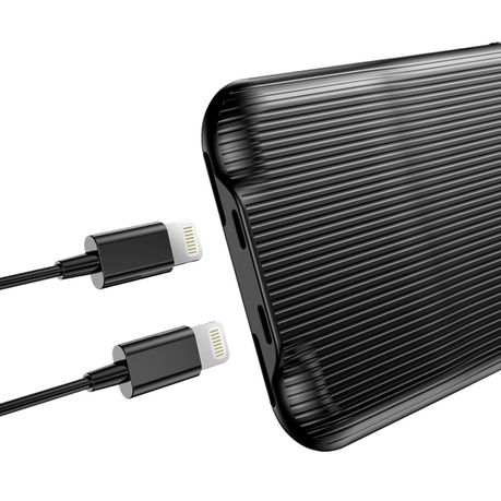 Baseus Dual Lightning Audio Case for iPhone X & XS - Black