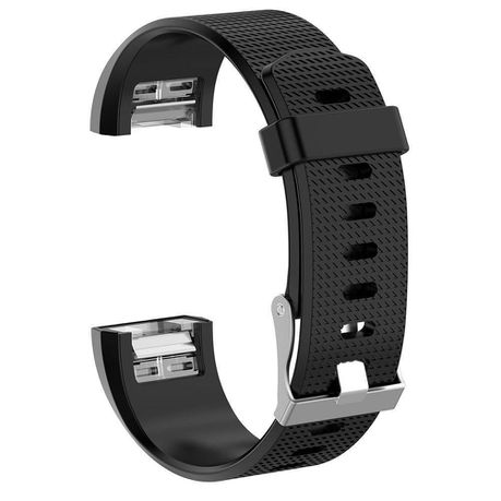 Sparq Fitbit Charge 2 Silicon Strap Black (Large) | Buy