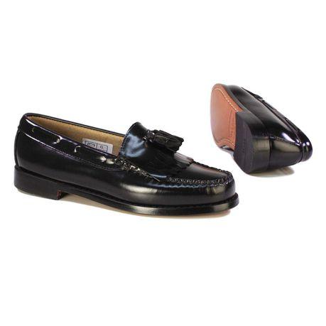 Bass Men's Formal Slip-On Shoes - Black