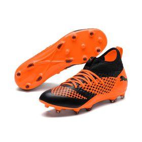 Puma Men's Future 2.3 Netfit FG AG Soccer Boots - Black
