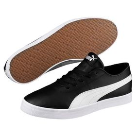 Puma Junior Urban SL Sport Lifestyle Shoes - Black/White
