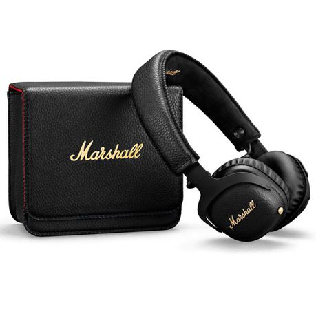 abe8fbe9b3f0fb Marshall MID A.N.C Active Noise Cancelling Bluetooth Headphones - Black