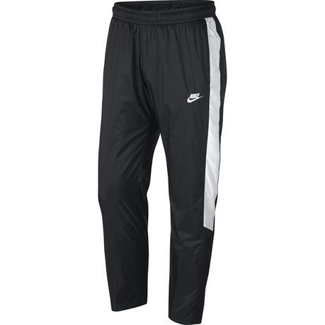 0cc157e0e1 Nike Men's Sportswear Woven Track Pants - Black & White