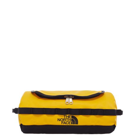 94f25465758 The North Face BC Travel Canister Large Toiletry Bag - Yellow Black   Buy  Online in South Africa   takealot.com
