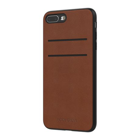 best website df5cb 39e0a Body Glove Lux Credit Card Case for Apple iPhone 7/8 Plus - Brown