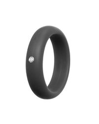Silicon Ring with Diamond for Women