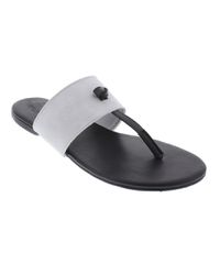 5097221a9f38d Basic Journey Thong Sandals - Black   Grey