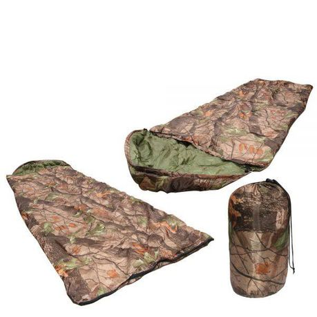 Camo Sleeping Bag