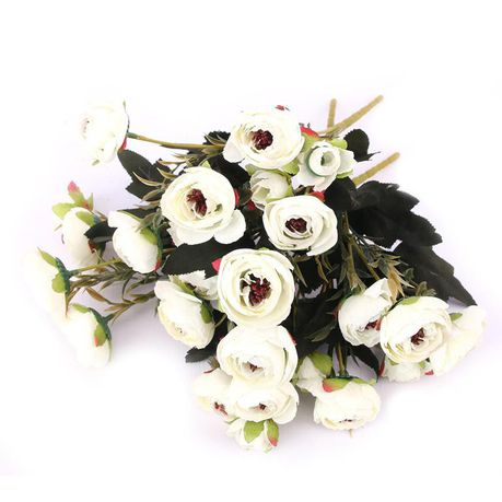 Wedding Bouquets Artificial Flowers Silk Roses