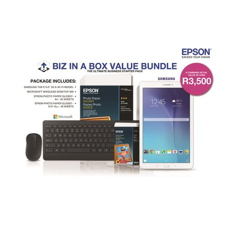 Epson EcoTank ITS L6170 BIZ in BOX Value Bundle | Buy Online