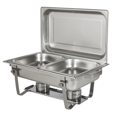 leopard double chafing dishes | buy online in south africa
