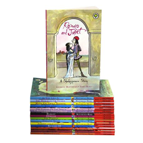 Shakespeare Children Stories Collection Set Of 16 Buy Online In