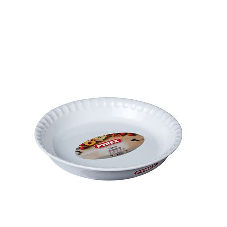 Pyrex 25cm Supreme Ceramic Piedish White Buy Online In South