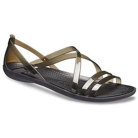 58c06278d2ff Crocs Women s Isabella Strappy Sandals - Black