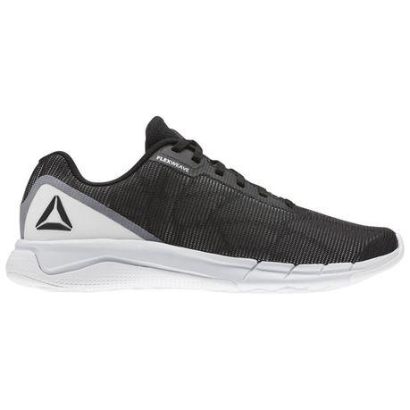 433feaa6b Reebok Men s Fast Flexweave Running Shoes - White Black Spirit White Alloy