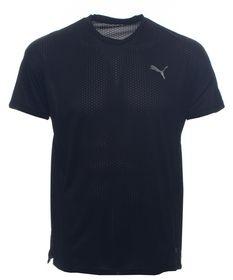Puma Men's A.C.E Short Sleeves Running T-Shirt - Black