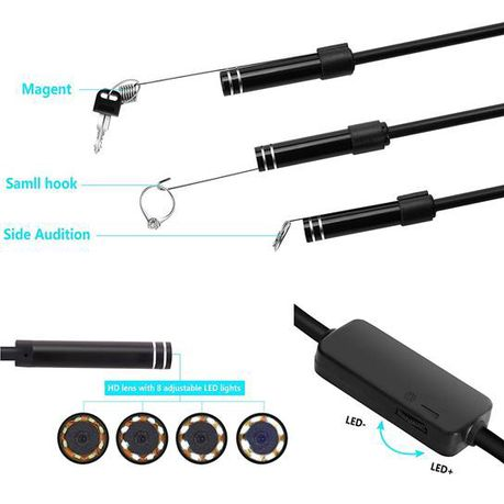 Phunk WIN-8 WiFi Endoscope Snake Camera 720P   Buy Online in