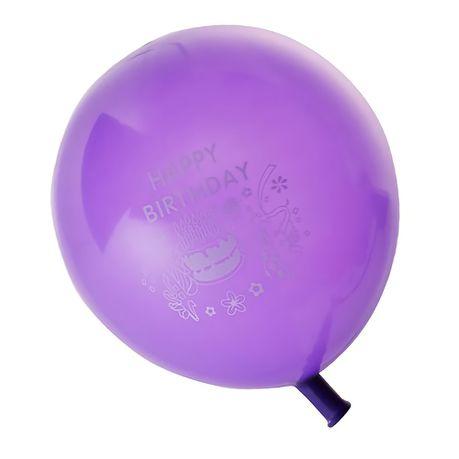 Bulk Pack X24 Happy Birthday Print Helium Balloons