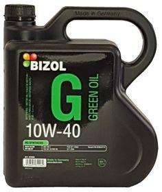 Bizol Green Engine Oil 10W-40 4L