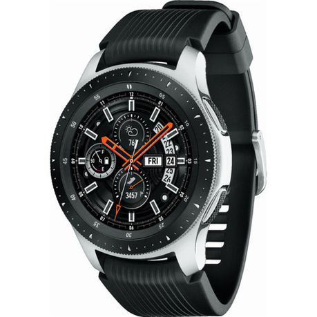 Samsung Galaxy 46mm Watch - Silver with Black Strap | Buy