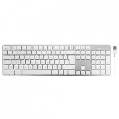 049823ff596 Macally 104 key Ultra Slim USB Keyboard For Mac - British English   Buy  Online in South Africa   takealot.com