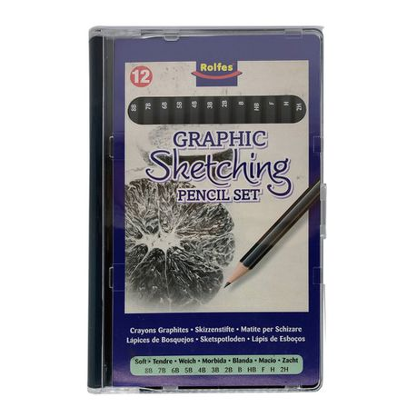 Rolfes Graphic Pencil Set 12 Grades Buy Online In