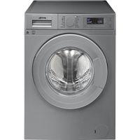 Smeg 60cm 9kg Silver Freestanding Washing Machine ...
