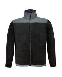 9addda4b76 Lee Cooper Mens Fleece Jacket - Black & Grey (Parallel Import)