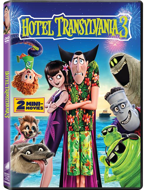 Hotel Transylvania 3 Monster Vacation DVD