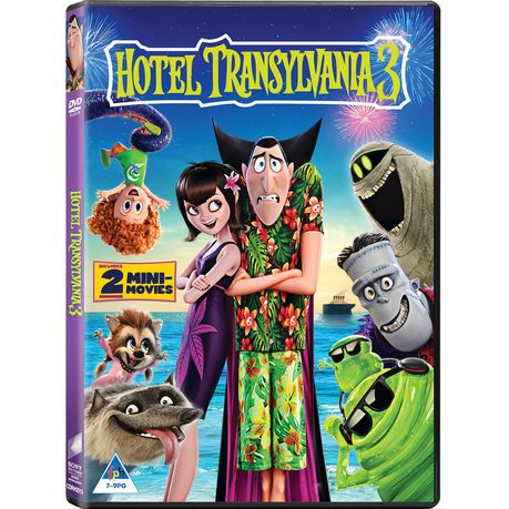 Hotel Transylvania 3 Monster Vacation Dvd