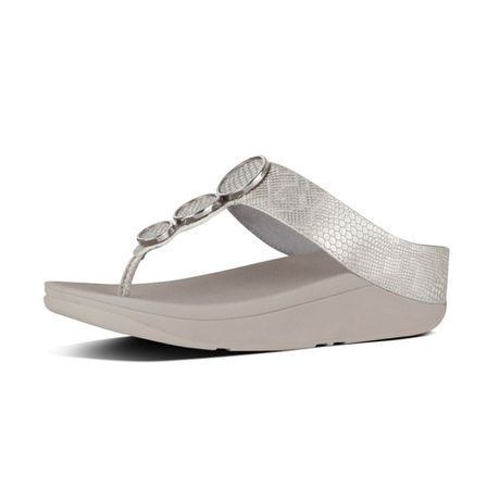 6be5c675e FitFlop Halo Python Urban White