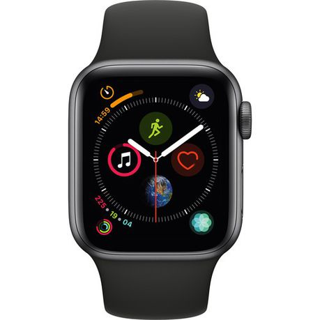 Apple Watch Series 4 44mm GPS Only Space Grey Aluminum