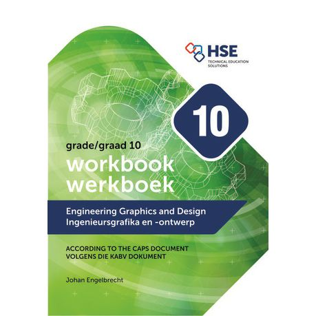 Engineering Graphics And Design Workbook For Grade 10 Caps Buy Online In South Africa Takealot Com