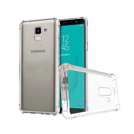 separation shoes 8933f f6021 Digitronics Transparent Shockproof Protective Case for Samsung Galaxy J6