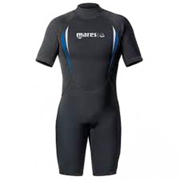 Mares Aquazone Men's Manta Shorty 2.2mm Wetsuit - Black