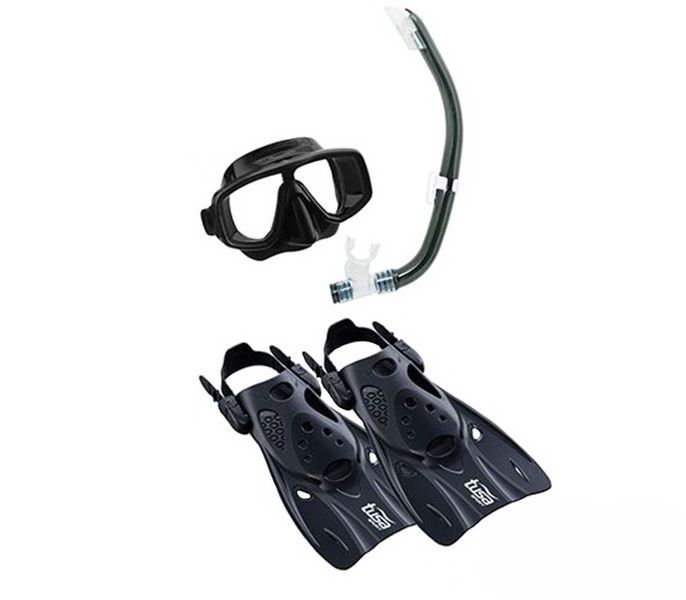 Tusa Senior Plantina Travel Snorkel Set