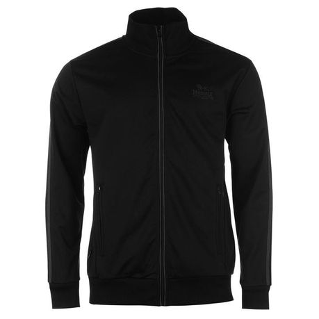 25ac88680726 Lonsdale Men s Track Jacket - Black   Charcoal (Parallel Import ...